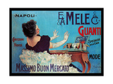Admirable Glove Collection and Assortment from Mele Poster von Aleardo Villa