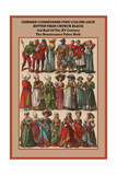 German Commoners of the XV Century the Renaissance Takes Hold Posters by Friedrich Hottenroth