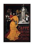 Caffe Espresso Servizio Istantaneo Posters tekijänä V Ceccanti