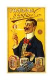 Victorson Cigarettes and Tobacco Smoking Is a Pleasure Plakater