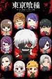 Tokyo Ghoul- Chibi Characters Kunstdruck
