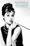 Audrey Hepburn Quote アートポスター