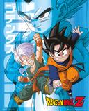 Dragonball Z- Trunks & Goten Affiche