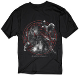 Mortal Kombat- Circular Montage T-shirts
