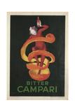 Bitter Campari Print van Leonetto Cappiello
