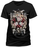 Babymetal- Fox Masks T-skjorter