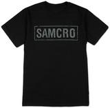Sons of Anarchy- SAMCRO Banner T-skjorter