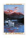 Lake D'Annecy (1900) Prints by Friedrich Hugo D'Alesi
