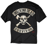 The Walking Dead- Survivor Camisetas