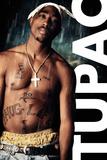 Tupac- Rain Kunstdruck