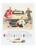 1959 Thunderbird - All You Are Affiches