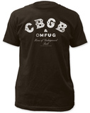 CBGB- Distressed Logo Tshirt