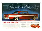 1957 Pontiac Surprise Package Poster