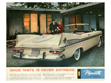 1959 Plymouth - Good Taste Poster