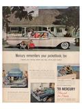 1959 Mercury - Your Pocketbook Arte