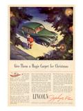 1941 Lincoln Zephyr V12 Affiche