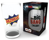 Big Bang Theory Bazinga 500 ml Glass Novelty