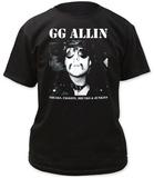 GG Allin- Freaks T-Shirts