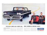 1958 Mercury Sports-Car Spirit Affiche