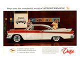 1957 Dodge Autodynamics Affiches
