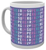Supergirl Type Mug Tazza