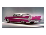 1958 Plymouth Belvedere Poster