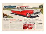 1956 Thunderbird Y-8 Engine Affiche