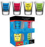Friends Quotes Shot Glass Set Regalos