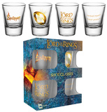 Lord Of The Rings Ring Shot Glass Set Gadget