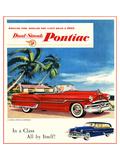 1953 GM Dual Streak Pontiac Kunstdrucke
