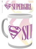 Supergirl Headline Mug Tazza