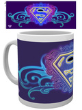 Supergirl Neon Mug Tazza