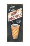 Soft Drinks Affiche par Kim Lewis