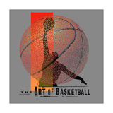 Art of Bball Affiches par Jim Baldwin