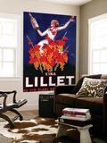 Kina Lillet Vintage Poster - Europe Poster géant par  Lantern Press