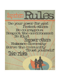 Superhero Rules Affiches par Shanni Welsh