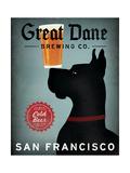 Great Dane Brewing Co San Francisco Posters tekijänä Ryan Fowler