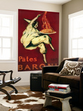 Pates Baroni Vintage Poster - Europe Poster géant par  Lantern Press