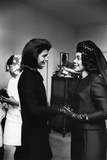 Coretta Scott King, Jacquelyn Kennedy, 1968 Photographic Print by Maurice Sorrell