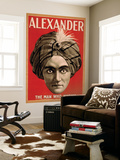 Alexander the Man who Knows Magic Poster Seinämaalaus tekijänä  Lantern Press