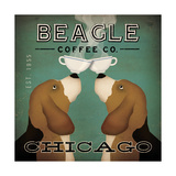 Beagle Coffee Co Chicago Posters tekijänä Ryan Fowler