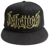 Behemoth- Gothic Logo Snapback Hodeplagg