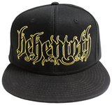 Behemoth- Gothic Logo Snapback Chapéu