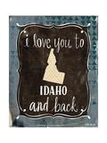 Idaho and Back Affiches par Katie Doucette