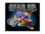 Gear Up Lacross Prints by Jim Baldwin