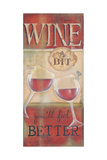 Wine a Bit Julisteet tekijänä Kim Lewis
