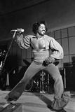 James Brown, 1974 Fotografisk tryk af Norman Hunter