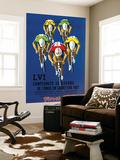 Pubblicità di corsa ciclistica Carta da parati decorativa di  Lantern Press