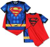 Superman- Sublimated Cape Tee Camisetas