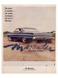 1964 Mercury - Marauder Price Láminas
